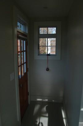 ダイニングからサンルームへ続くドア